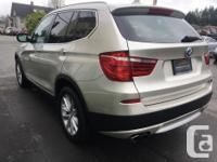 Make BMW Model X3 Year 2011 Colour Silver kms 82000