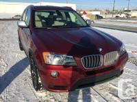 Make BMW Model X3 Year 2011 Colour Red kms 109000