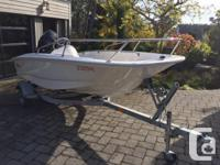 Super low hours and in great condition the Whaler has