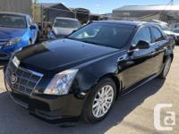 Make Cadillac Model CTS Sedan Year 2011 Colour Black