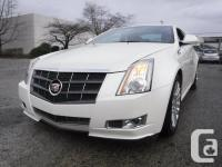 Used, Make Cadillac Model CTS Year 2011 Colour Whiye kms for sale  British Columbia