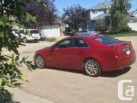 Make Cadillac Model CTS Year 2011 Colour Red kms 47500