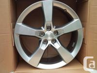 Factory 20 x 8-inch front and 20 x 9-inch rear