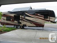 "2011 Cardinal 38'6"" 5th wheel by Forest River--model"