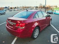 Make Chevrolet Model Cruze LT Year 2011 Colour Red kms