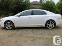 Make Chevrolet Model Malibu Year 2011 Colour White kms