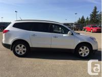 Make Chevrolet Model Traverse Year 2011 Colour White