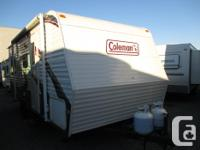 This Coleman 192RD is a light weight conventional