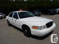 Make Ford Model Crown Victoria Police Pkg Year 2011