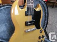 2011 Epiphone 50th Anniversary 1961 SG Special Reissue.