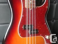 This bass is in beautiful condition and comes with