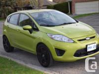 Make Ford Model Fiesta Year 2011 Colour light green