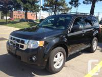 2011 FORD ESCAPE XLT 2.5L 4 CYL.,  FWD  149121KM.,
