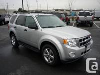 This 2011 Ford Escape 4WD is very well equipped with