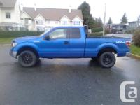 Make Ford Model F-150 Year 2011 Colour Blue kms 192000
