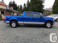 Make Ford Model F-150 SuperCrew Year 2011 Colour Blue