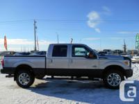 2011 FORD F-350 DIESEL LARIAT LOADED! LEATHER!