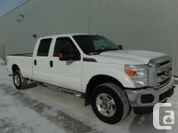 2011 FORD F350 Super Duty with the 6.2L gasoline engine