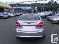 2011 Ford Fiesta SEL  48,900km,  1.6L  4DSDN  A/T, P/L,