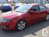 Make Ford Model Fusion Year 2011 Colour Red kms 45700