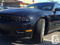11 Ford Mustang, 34K Km, Local BC car  more details