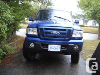 Make Ford Model Ranger Year 2011 Colour blue kms 91000