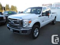 This White Long Box Ford F350 XLT 4x4 with the 6.7