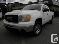 2011 GMC Sierra 1500 Ext Cab, short box, 2WD, 4.8L V8,