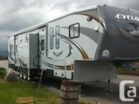 2011 Heartland Cyclone 3814 Toy Hauler. We acquired