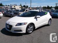 Make Honda Model CR-Z Colour White Trans Manual kms