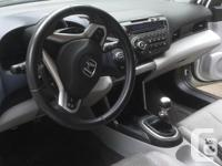 Make Honda Model CR-Z Year 2011 Colour white kms