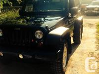 Make Jeep Model Wrangler Year 2011 Colour Black kms