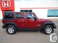 Make Jeep Model Wrangler Unlimited Colour Red Trans