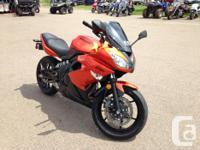 2011 Kawasaki Ninja 650R - One Owner, ONLY 10,900
