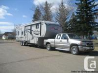 2011 Keystone Montana High Nation 323, 36 foot, fresh,