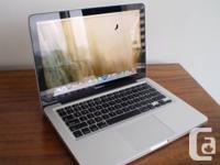 2011 i5 MacBook Pro laptop.   Think: NEW. Best lappie