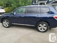 Make Toyota Model Highlander Year 2011 Colour Blue kms