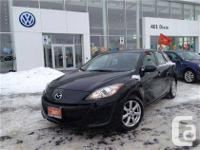 Great looking 2011 MAZDA 3 GX sport hatchback is here