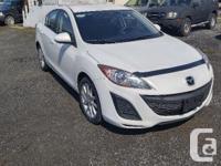 Make Mazda Model MAZDA3 Year 2011 Colour White kms