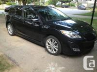 Immaculate Black 2011 Mazda3 GT Hatchback w/ Sport