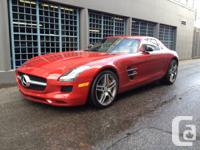 For sale is a 2011 Mercedes Benz SLS AMG  One of the
