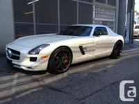 rcedes Benz SLS is prepared for immediate shipping.