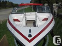 Immaculate 2011 Crownline 18SS Bowrider, powered by a