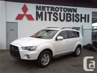 2011 Mitsubishi OUTLANDER LS 4WD, Certified Mitsubishi