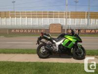 2011 Ninja1000cc Sport-Touring Bike with Givi touring