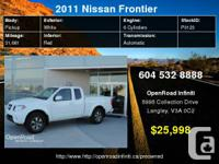 2011 Nissan Frontier Pro-4x King Cab 4x4