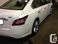 Make Nissan Model Maxima Year 2011 Colour White kms