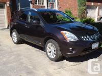 Make Nissan Model Rogue Year 2011 Colour Burgandy kms