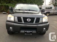 2011 Nissan Titan Pro 4X, 4X4, leather and heated