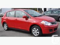 E TESTED AND CERTIFIED 2011 NISSAN, VERSA, SL, A/C,